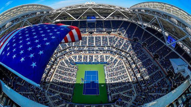 Dějiště tenisového US Open. Ilustrační snímek.