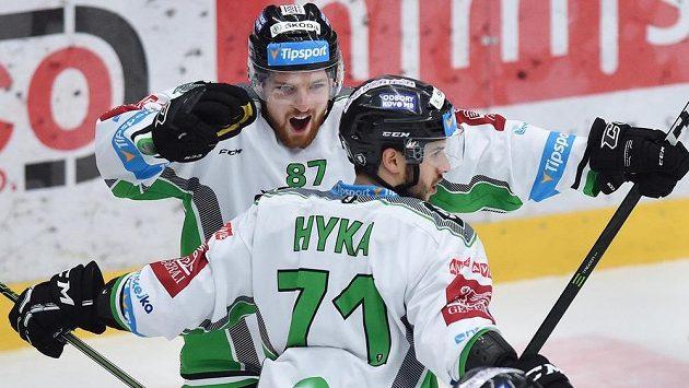 Mladoboleslavská radost, ilustrační snímek. Pavel Musil (vlevo) a Tomáš Hyka