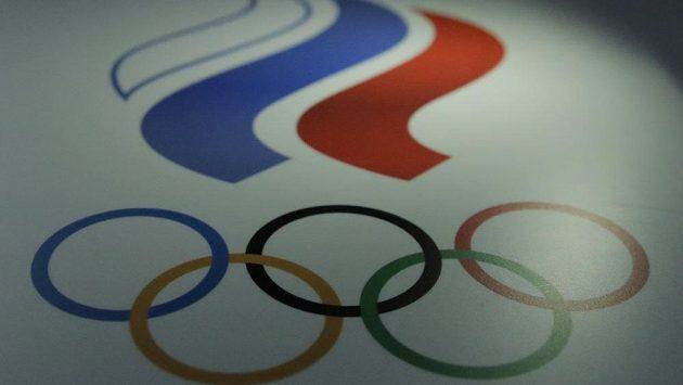 Logo Ruského olympijského výboru.