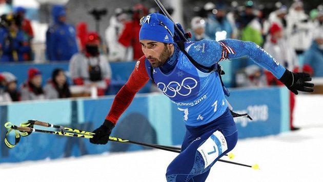 Francouz Martin Fourcade veze štafetu k olympijskému zlatu.