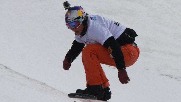 Eva Samková při juniorském mistrovství světa v tureckém Erzurumu.