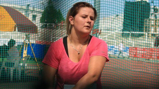 Kladivářka Kateřina Skypalová.