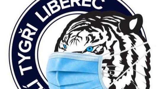 Liberecký hokejový klub upravil vzhledem k pandemii koronaviru svůj profilový obrázek.