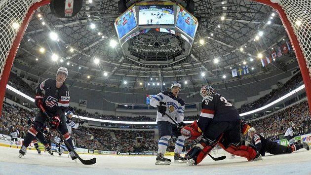 Minsk arena v hlavním běloruském městě byla dějištěm bojů o medaile.