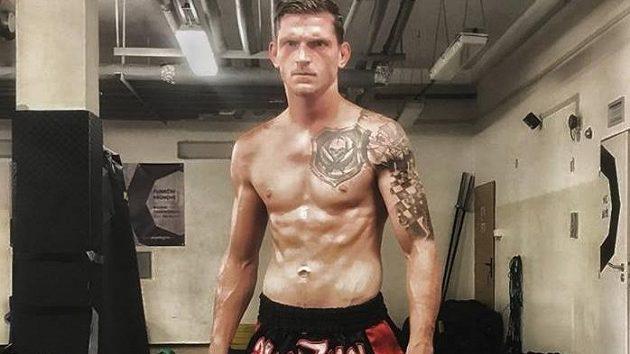 David Dvořák, zápasník MMA.