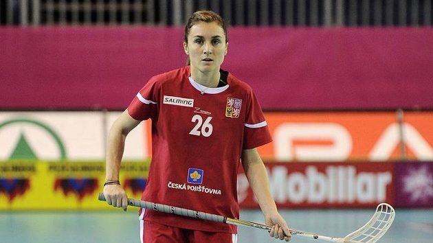 Česká florbalistka Magdalena Cepek Žižková