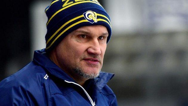 Martin Hamrlík na lavičce Zlína