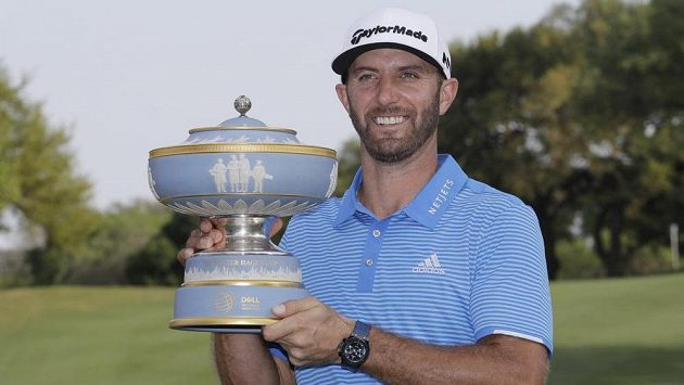Americký golfista Dustin Johnson vyhrál během šesti týdnů třetí turnaj PGA a potvrdil pozici světové jedničky.