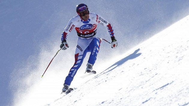 francouzský sjezdař Adrien Théaux.