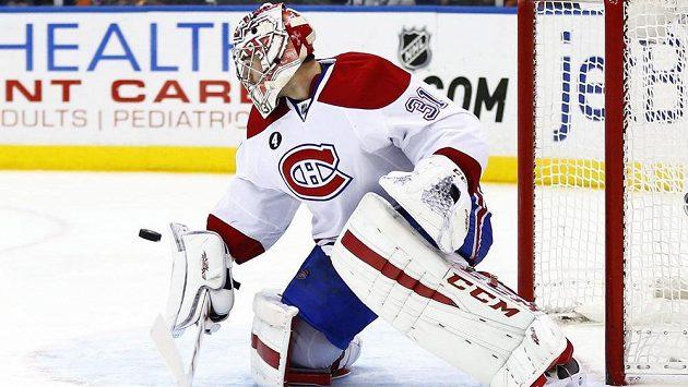 Carey Price, brankář Montrealu Canadiens.