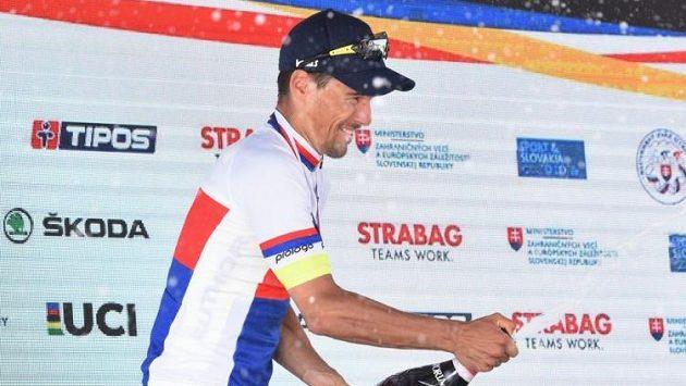 Český cyklista František Sisr na archivním snímku
