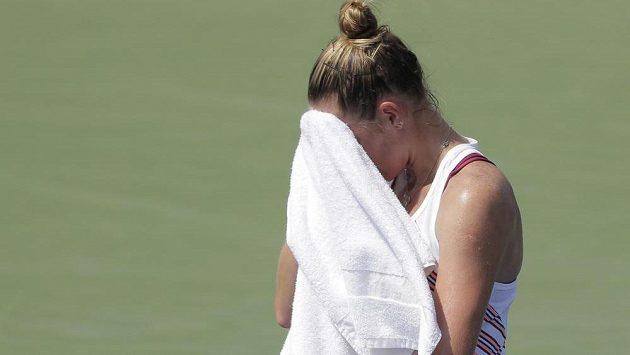 Kristýna Plíšková se tentokrát přes první kolo US Open nedostala. Prohrála s Kiki Bertensovou ve dvou setech.