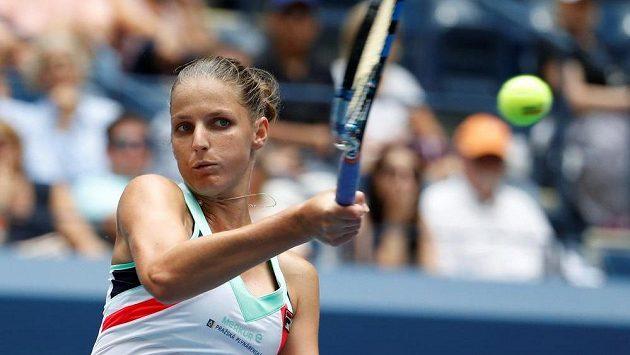 Karolína Plíšková ve druhém kole US Open