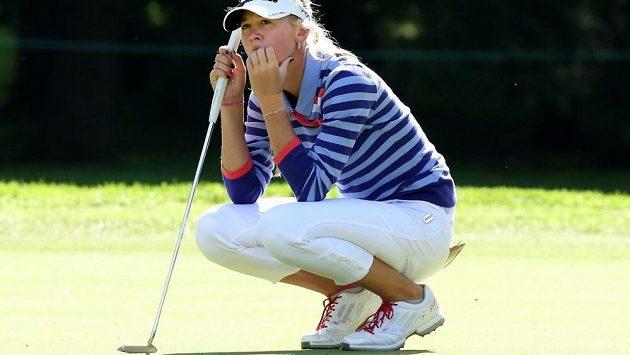 Americká golfistka Jessica Kordová.