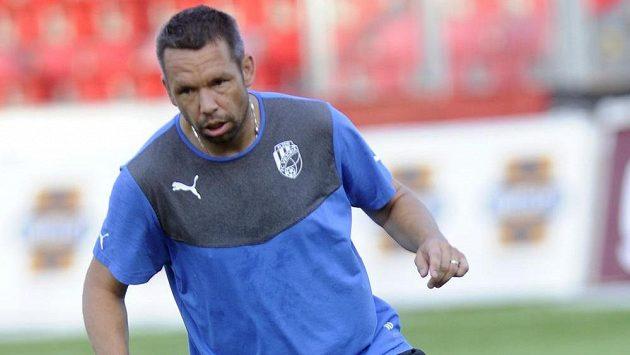 Plzeňský záložník Pavel Horváth na tréninku před odvetným utkáním 3. předkola Ligy mistrů s Nõmme Kalju.
