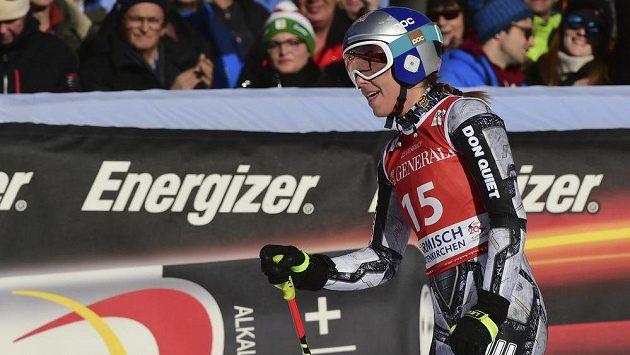 Ester Ledecká si dojela pro třetí místo a druhé stupně vítězů ve sjezdu v sezoně