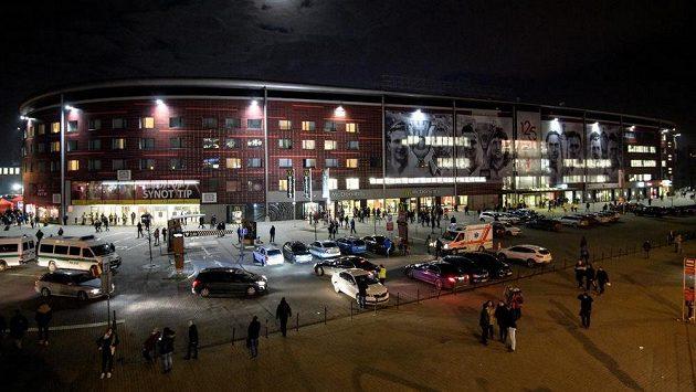 Stadion Slavie - ilustrační snímek.