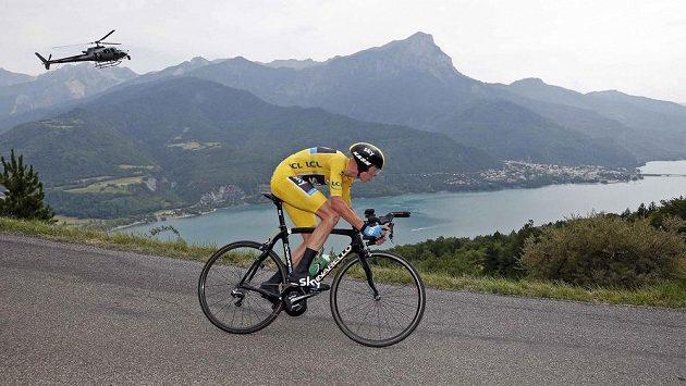 Vítěz letošní Tour Christopher Froome z Velké Británie.
