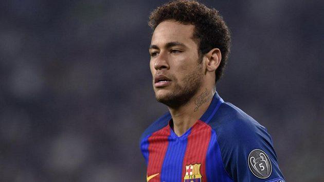 Barcelonský Brazilec Neymar do utkání s Realem Madrid nezasáhne.