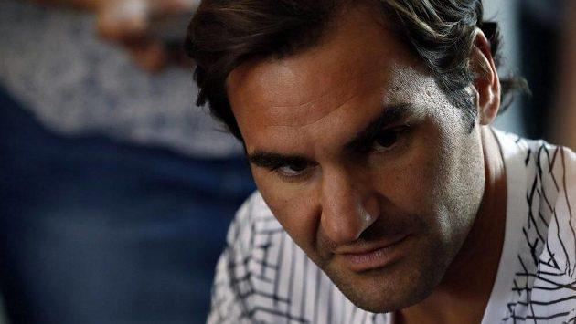 Roger Federer v Miami.