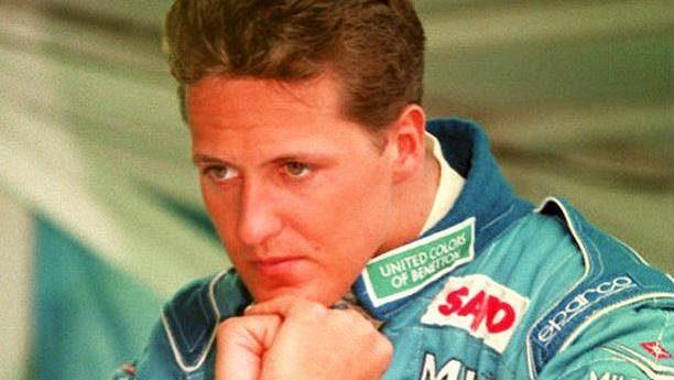 Legendární pilot formule 1 Michael Schumacher