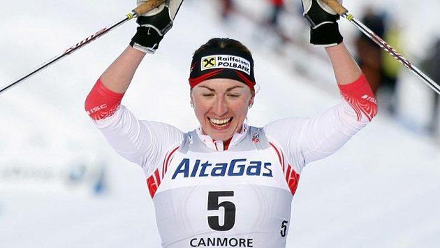 Polská běžkyně na lyžích Justyna Kowalczyková se představí v Liberci