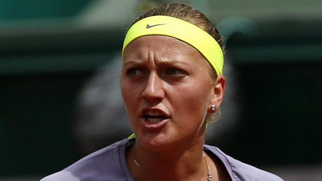 Petra Kvitová si osmifinále French Open nezahraje.