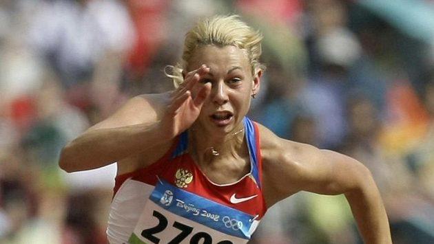 Ruská sedmibojařka Taťjana Černovová na archivním snímku z OH 2008.
