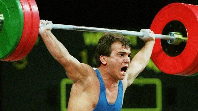 Trojnásobný olympijský vítěz ve vzpírání Naim Süleymanoglu.