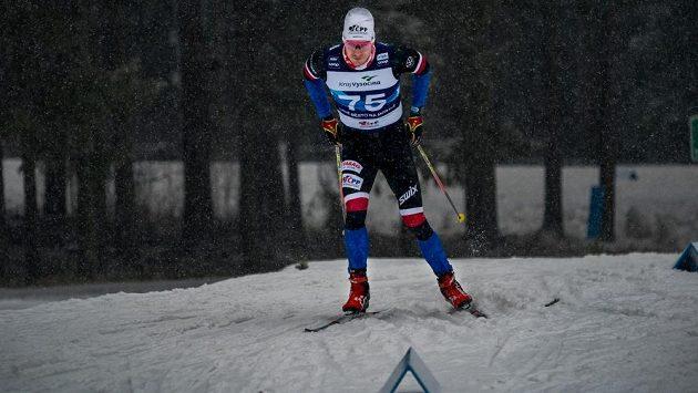 Český běžec na lyžích Luděk Šeller.