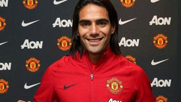 Radamel Falcao, jedna z největších posil Manchesteru United.