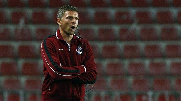 Trenér fotbalistů Sparty Martin Hašek