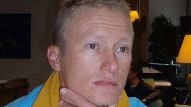 Alexandr Vinokurov na archivním snímku.