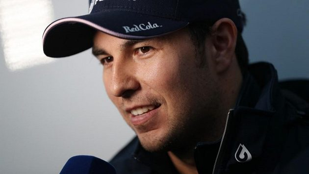 Mexický pilot formule 1 Sergio Pérez