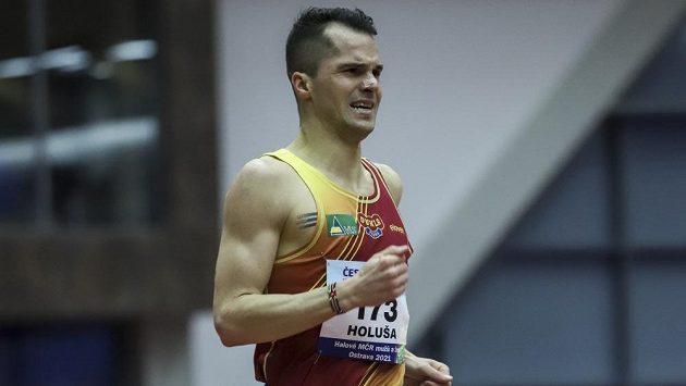 Jakub Holuša při mistrovství republiky v Ostravě.