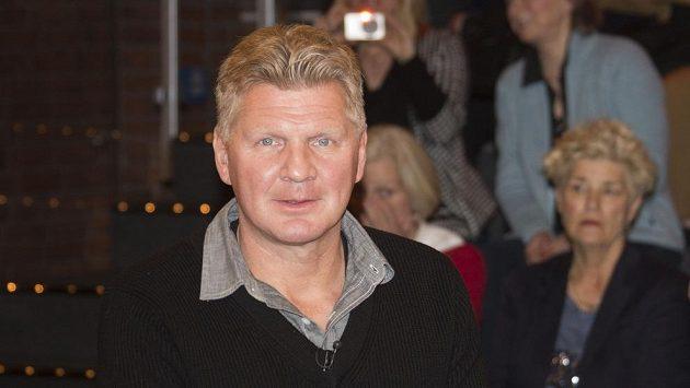 Stefan Effenberg v televizním studiu.