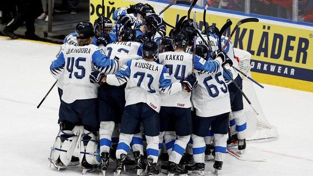 Finská radost po postupu do finále MS.