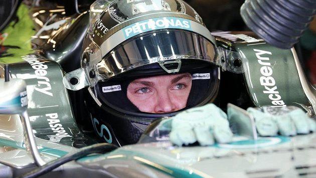 Nico Rosberg během Velké ceny Abú Zabí.