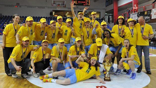 Basketbalistky ZVVZ USK Praha