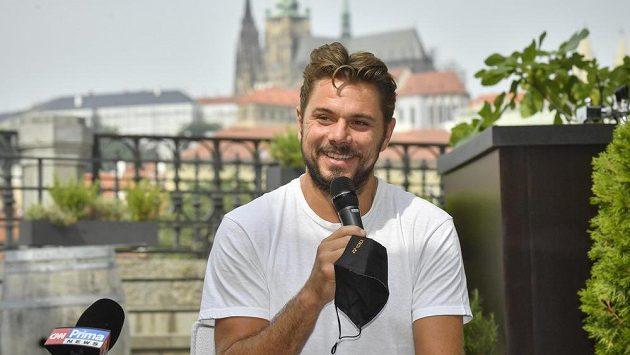 Švýcarský tenista Stan Wawrinka bude hrát v Praze challenger ATP.