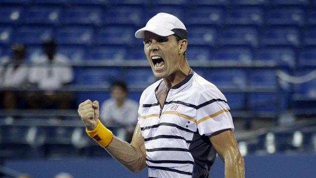 Radost Tomáše Berdycha na US Open.