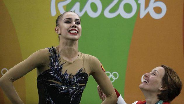 Ruska Margarita Mamunová ovládla víceboj