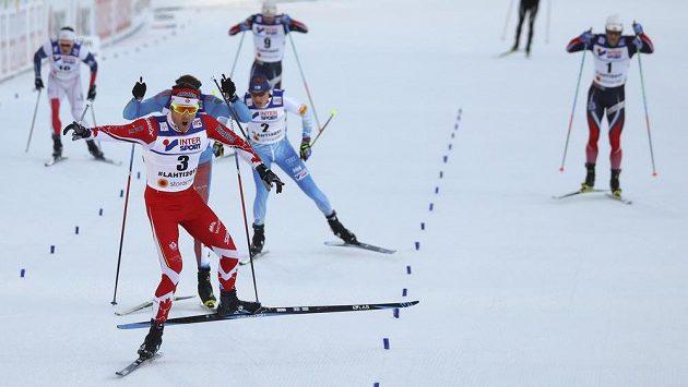Kanaďan Alex Harvey míří za titulem mistra světa na 50 km na šampionátu v Lahti.