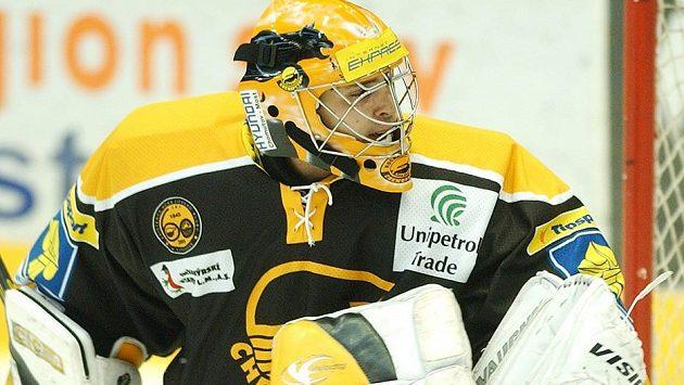 Kamil Jarina ještě v litvínovském dresu v sezóně 2005/2006.