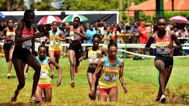 Vedra při ugandském mistrovsví nesedla každému. Také trať byla hodně náročná.
