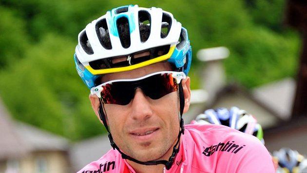 Italský cyklista Vincenzo Nibali.
