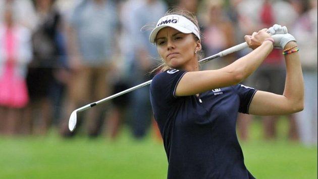 Golfistka Klára Spilková na archivním snímku.