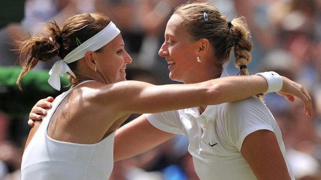 Petra Kvitová a Lucie Šafářová patří k největším postavám českého tenisu