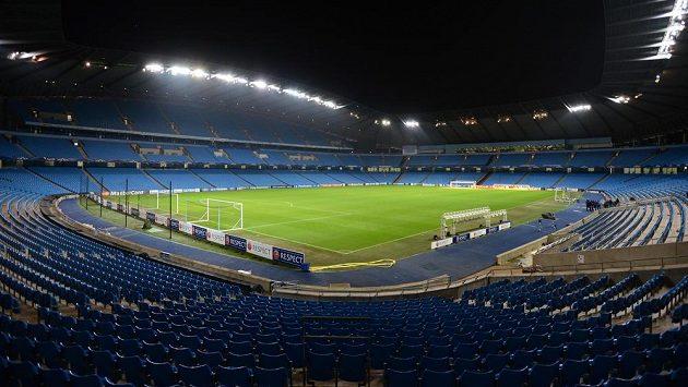 Etihad Stadium v Manchesteru. Ilustrační foto.