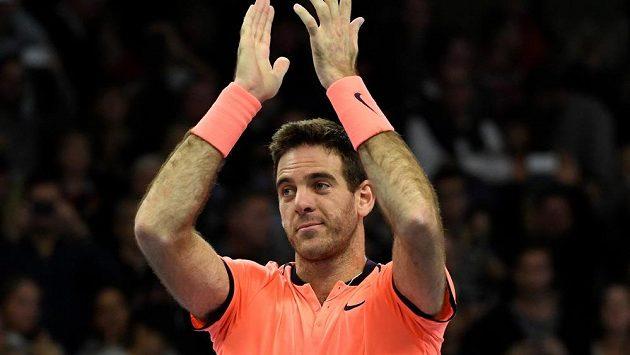 Argentinský tenista Juan Martín del Potro.